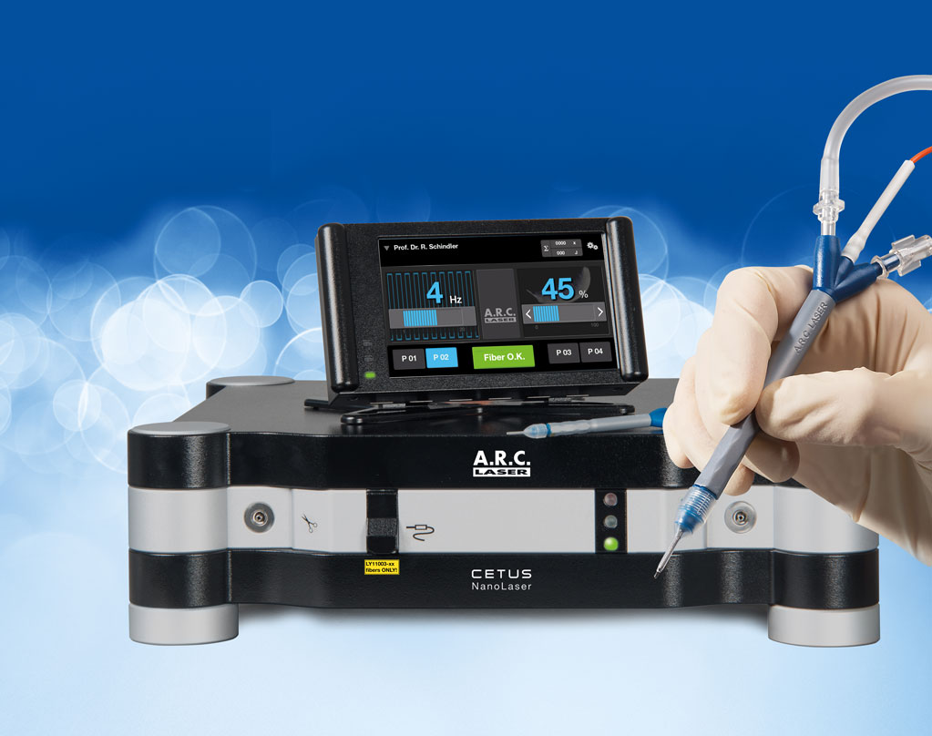 CETUS Nanolaser von ARC Laser mit Einmalhandstück